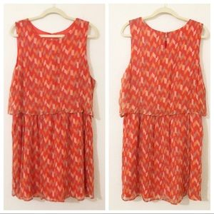 Lucky Brand Orange Size Extra Large Dress